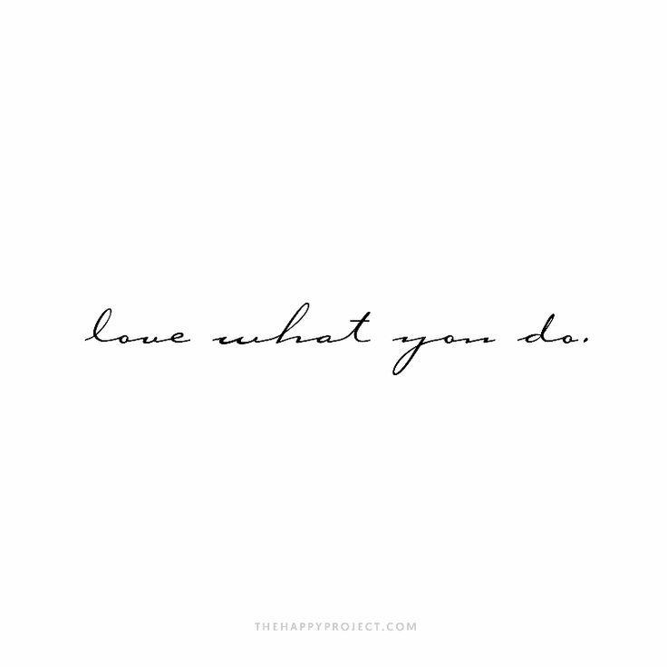 Find joy in what you do. – Jasmin G'er-