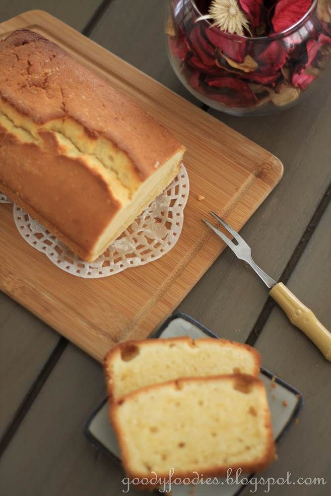 Eat Your Heart Out: Recipe: Lemon Madeira Cake (Nigella Lawson)