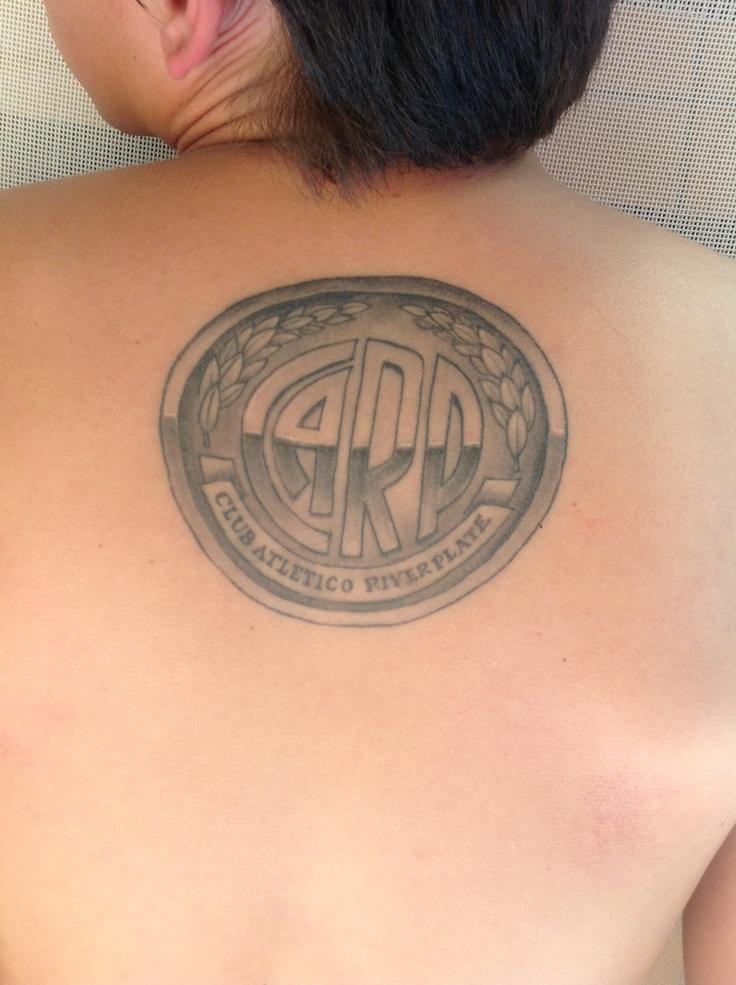 Dhimas tattoo- River Plate