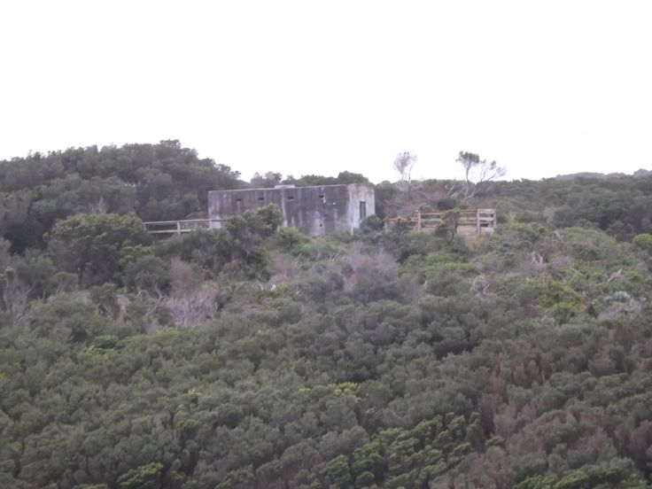 Cape Otway Lightstation: View from top of Lighthouse