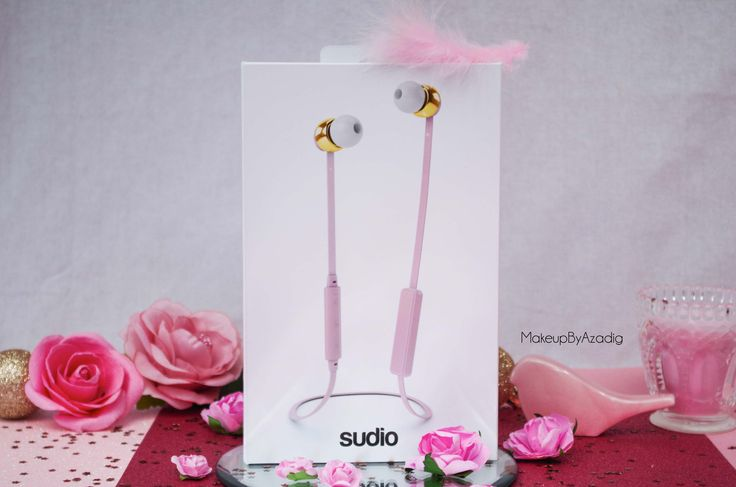 ecouteurs-casque-sans-fil-bluetooth-design-tendance-sudio-sweden-rose-vasa-bla-makeupbyazadig-avis-prix-packaging