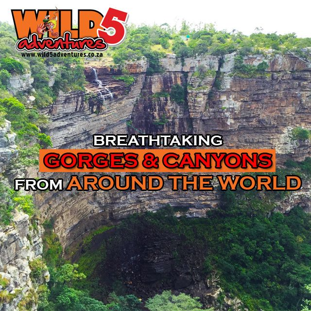 Breathtaking #Gorges and #Canyons from #AroundtheWORLD! #Wild5Gorge http://bit.ly/1OVI4Dl