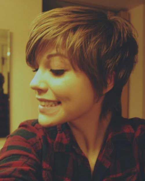 Best 25 cute pixie cuts ideas on pinterest pixie long bangs cute hairstyle for pixie cuts urmus Gallery