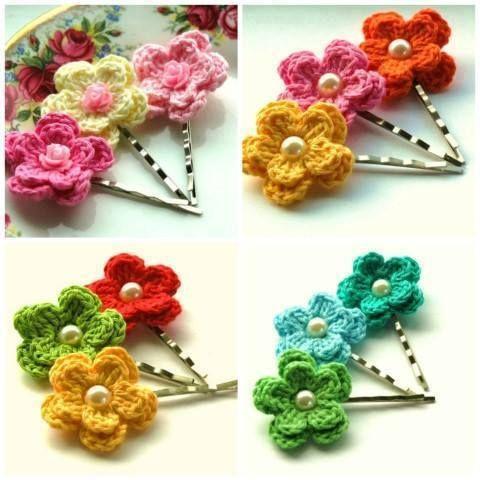 flores de malha