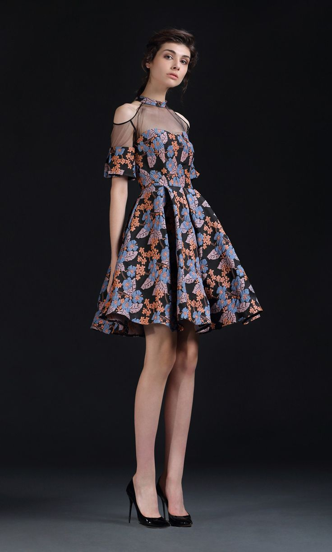 Isabel Garcia Short Dress Moscow
