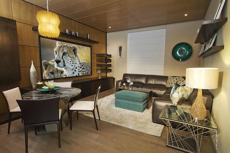 Sala de cine sorteo tec dic 2012 ideas para el hogar - Sala de cine en casa ...