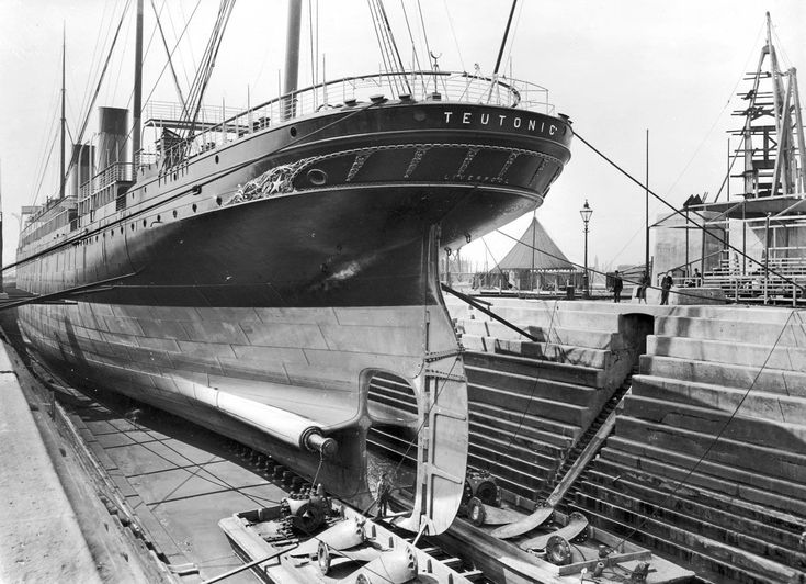 What Does Rms Mean >> White Star Line's Teutonic was launched at the Belfast ...