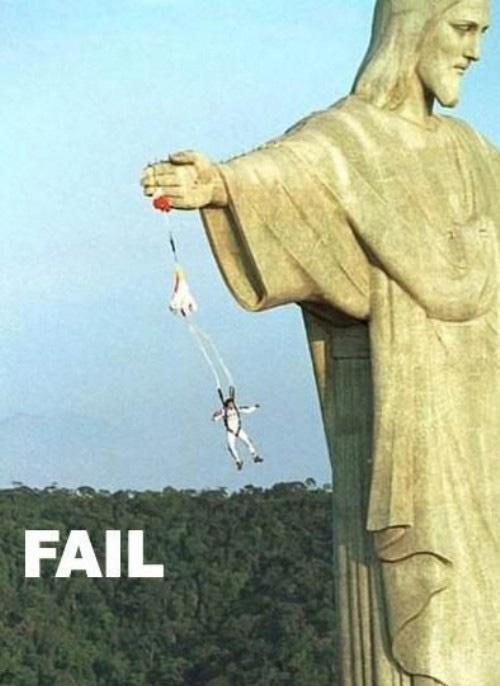 Parachute FAIL......