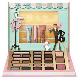 The Chocolatier - Coffret de maquillage de Too Faced sur Sephora.fr