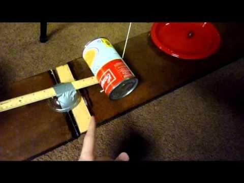 My 8th grade Rube Goldberg Project