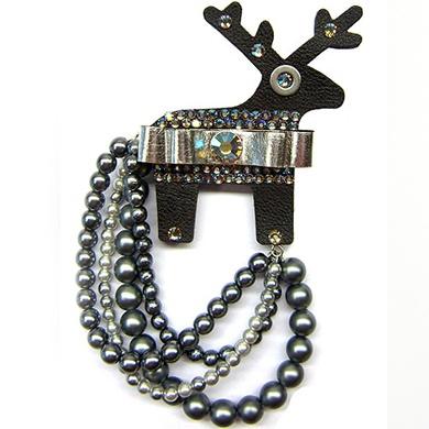 "Reindeer brooch -  ""Reindeer jewellery"" designed by Czech artis . I'm in love!!!!!!!!!!!"