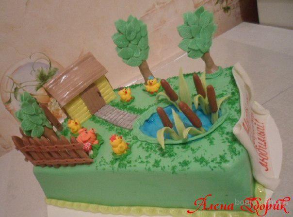 Торт мечты сбываются