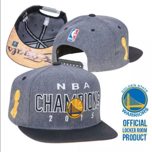 NWT Warriors 100% Auth Champs Adidas SnapBack hat Brand NEW Golden State Warriors 100% Authentic NBA Champs Adidas SnapBack hat Show off your Golden State Warriors pride with the official NBA Finals locker room hat!  One size fits all adjustable Snapback                  GREAT VALENTINE'S giftfor your Dubs boo!  **FREE BONUS GIFTS: earbuds + cell USB car charger!**  Thanks for viewing! GO WARRIORS! Adidas Accessories Hats