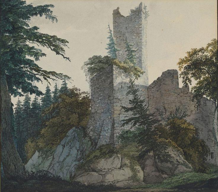 The Ruins of Hohenbaden,1814-15