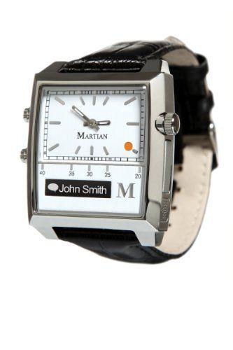 Martian Watches Passport Smart Watch (White/Silver/Black) - http://www.uzume.net/martian-watches-passport-smart-watch-whitesilverblack/ #SmartWatch