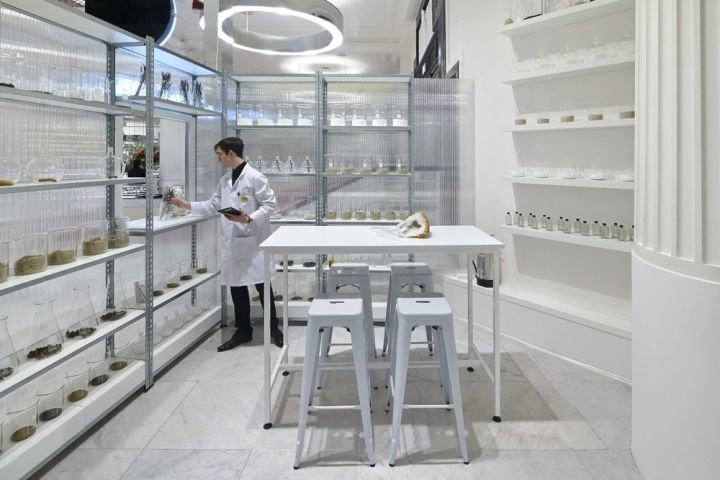 Fragrance Lab installation by Campaign, The Future Laboratory, Selfridges and Givaudan, London
