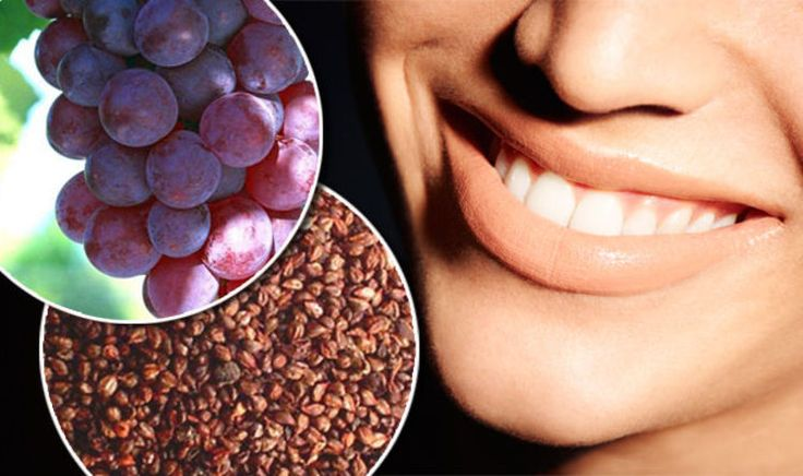 TOOTH decay could be fought with the seeds from red grapes - according to new research.