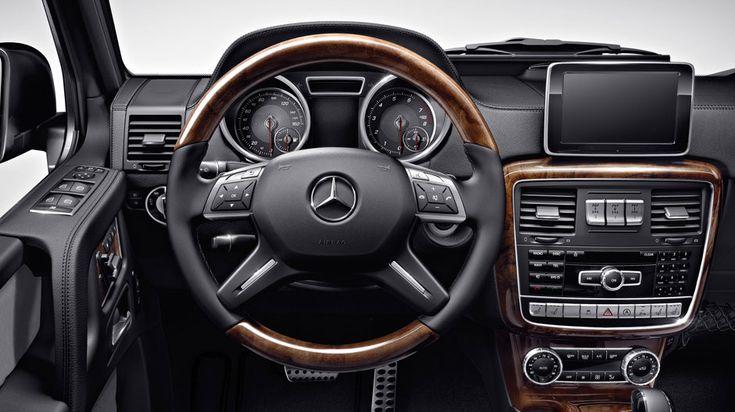 2017 Mercedes–Benz G-Class - New Interior