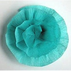 Crepe Streamer Flowers  easy to make and lovely to look at. Instructions at www.freekidscrafts.com