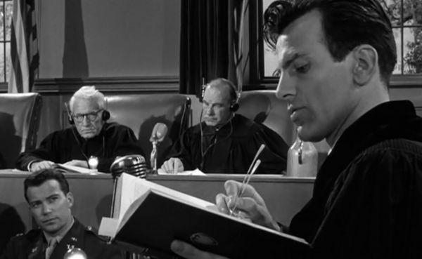 """Wyrok w Norymberdze"" - Spencer Tracy, Maxymilian Schell- 1961.  Judgment at Nuremberg: The Movie"