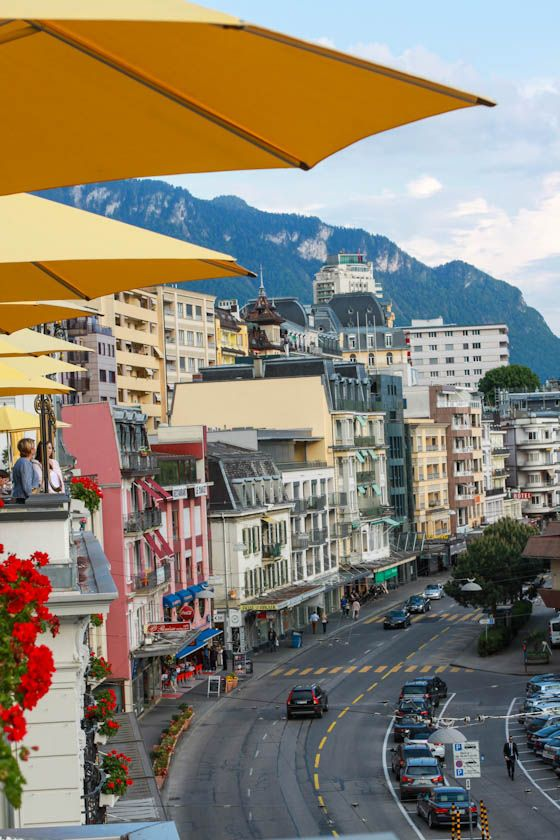 Now I want to go to Montreux, Switzerland! How beautiful does this place look?! via @Jenna (Eat, Live, Run)