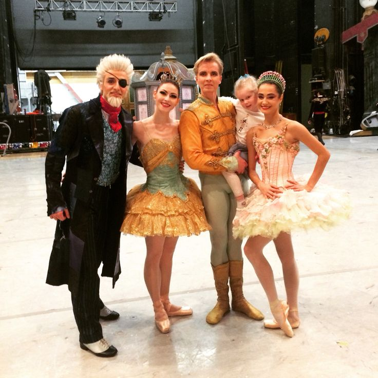 Another Nutcracker with Ruben Martin, Sofiane Sylve and Mathilde Froustey #nutcracker