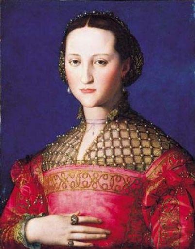 Portrait of Eleonora di Toledo by Agnolo Bronzino, 1543