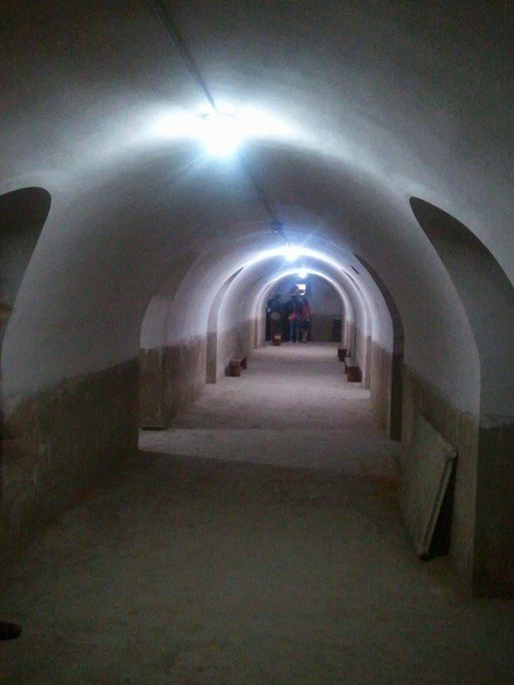 Refugio antiaéreo del IES Luis Vives, #Valencia #CaminArt