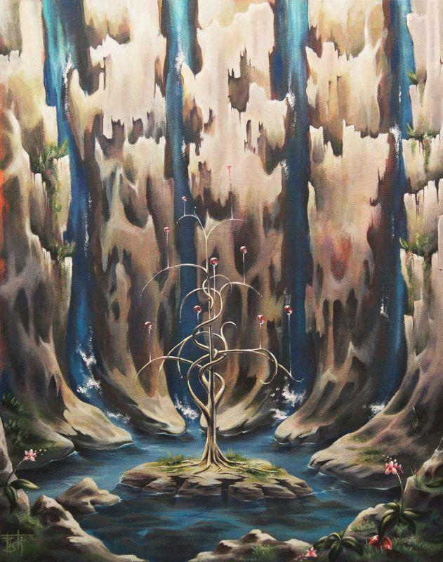 Картины МАГИЯ РУН. Trish: Пробуждение к танцу