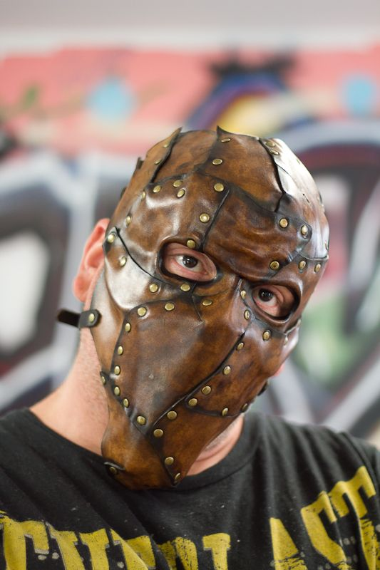 Piecemeal Leather Mask by OsborneArts on DeviantArt