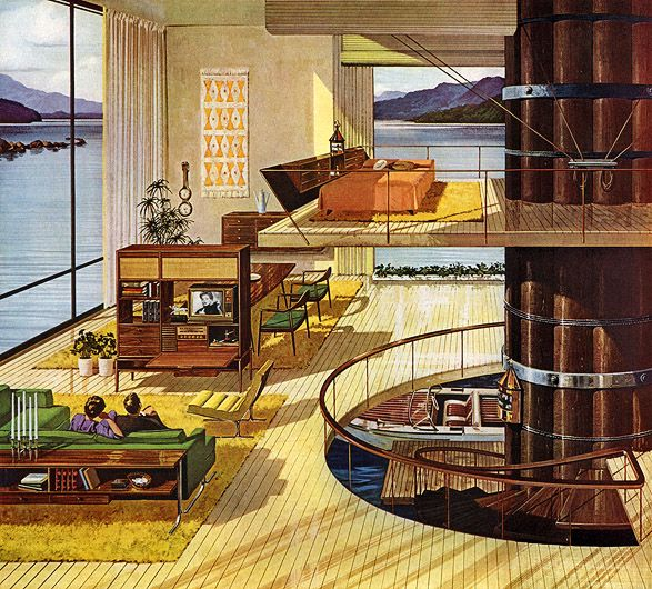 In which we round up all of those great houses of the future that never actually came to be