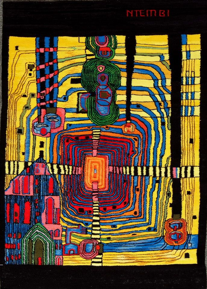 Homage to Hundertwasser, by Ntembi