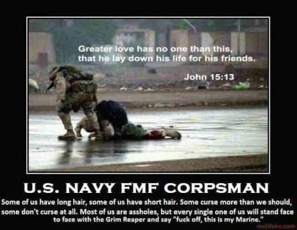 U.S. Navy FMF Corpsman