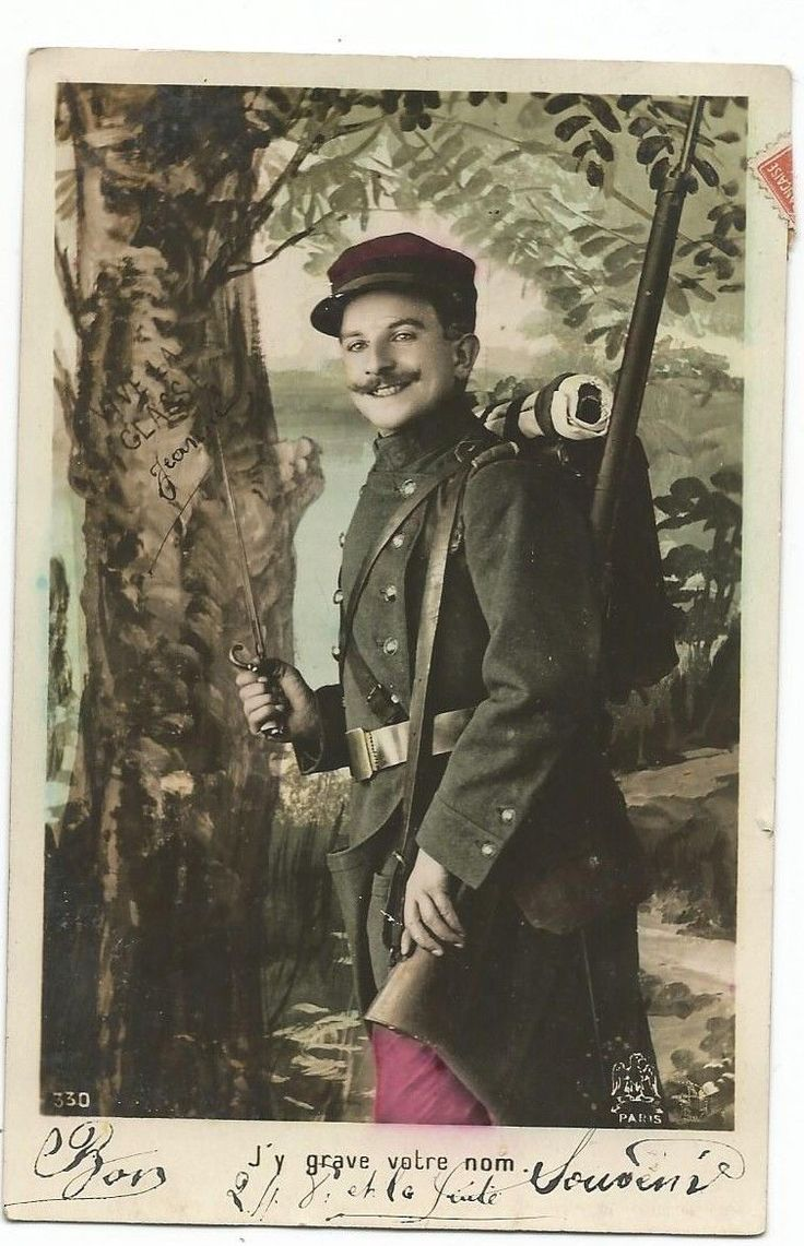 WWI, French Poilu