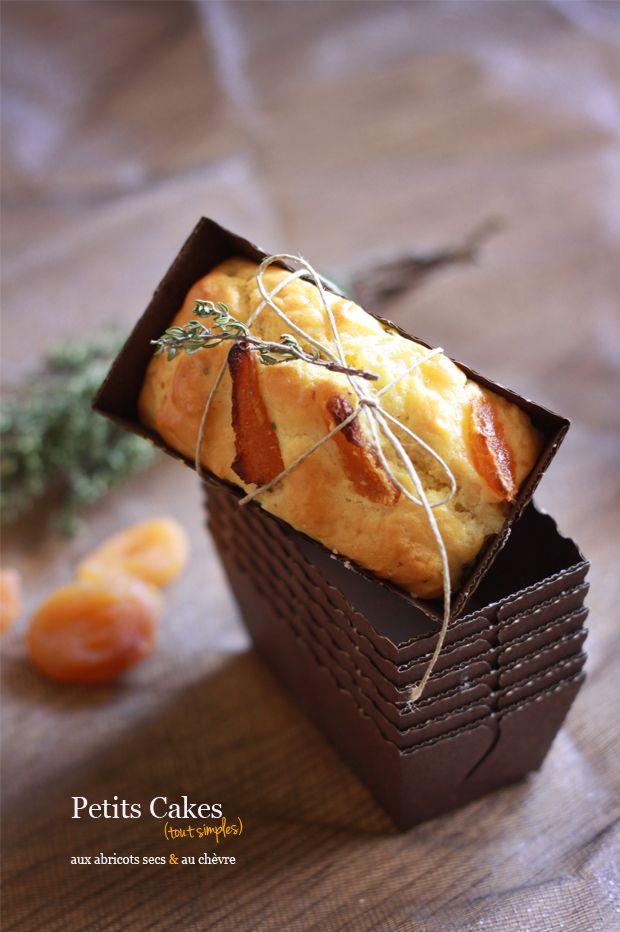 Cake abricots secs et chèvre1 CAKES ABRICOTS SECS ET CHEVRE