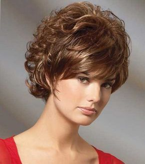Pictures of short curly hairstyles for women