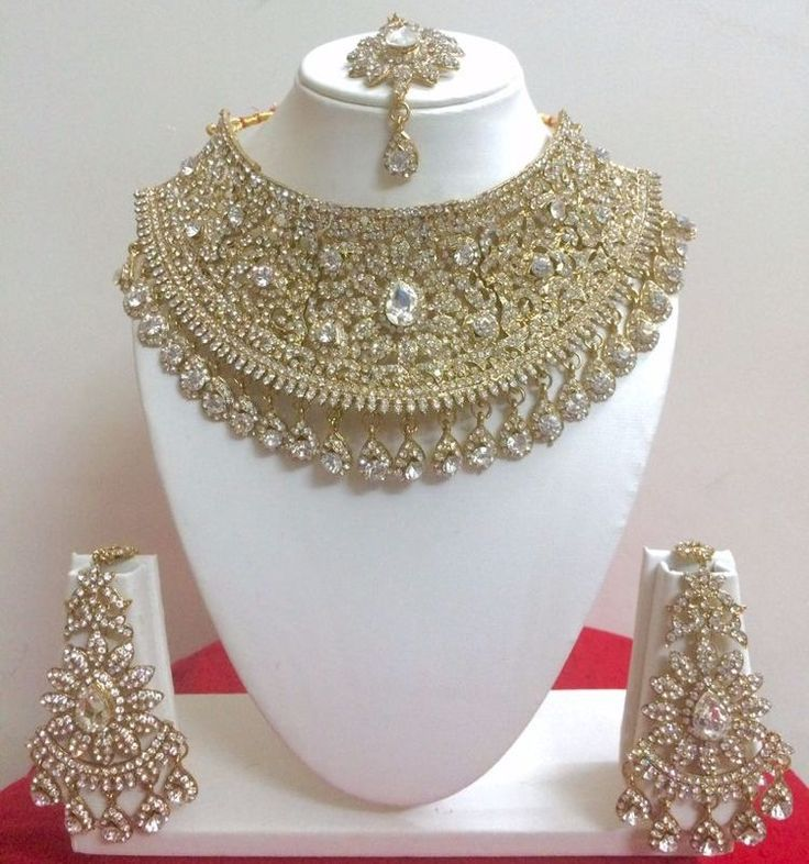 Sparkling Indian Wedding Necklace