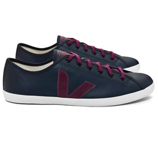Veja Taua Fair Trade Leather Trainers ($120) ❤ liked on Polyvore featuring shoes, sneakers, women, leather sneakers, genuine leather shoes, tan leather shoes, leather footwear e leather trainers