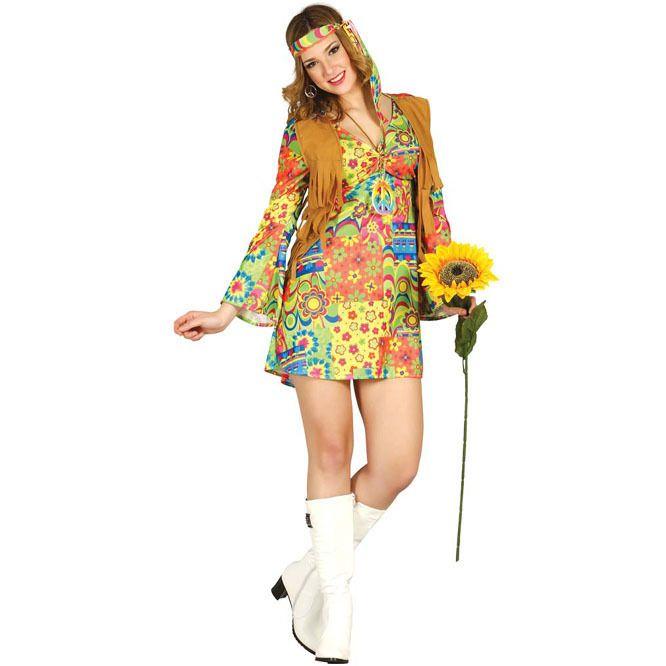 17 mejores ideas sobre disfraz de hippie en pinterest for Disfraces de los anos 60