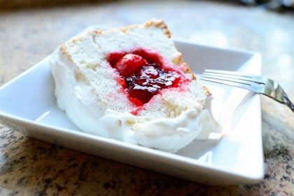 strawberry sparkle cake - essentially an angle food cake with a strawberry middle: Cake Pioneer, Angel Food Cakes, The Pioneer Woman, Sparkle Cake, Strawberries, Sweet Tooth, Cake Recipes, Strawberry Cake