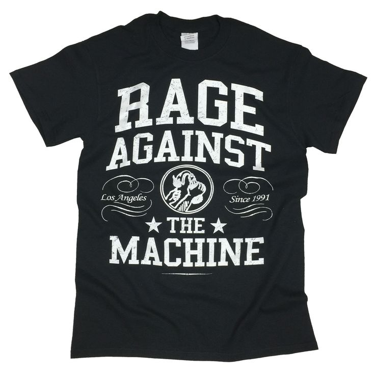 Rage Against The Machine Crown College Official Music T-Shirt