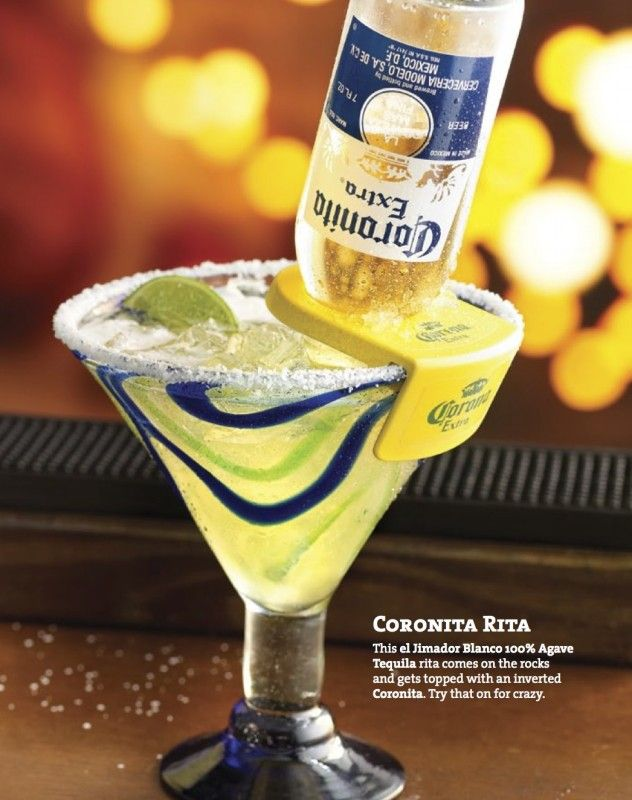 Corona rita recipe tequila frozen and drinks for Drinks you can make with tequila