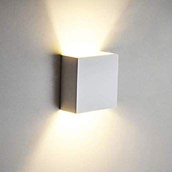 Wandlampe Lucillo Aus Metall In Aluminium Geburstet Moderne