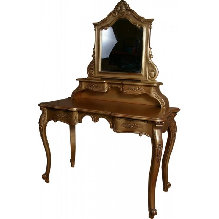 rocco furniture   Home » Rococo French Range » Rococo French Furniture Gold Dressing ...