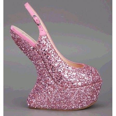 giuseppe zanotti kanye west shoes, guiseppe zanotti wedges on sale $243, giuseppe zanotti pink shoes, Giuseppe Zanotti Design Sequin Wedge Heel