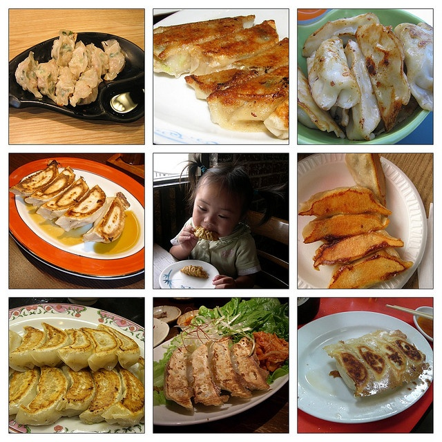 Meat And Chinese Chive Pot Stickers (Guotie) Recipes — Dishmaps