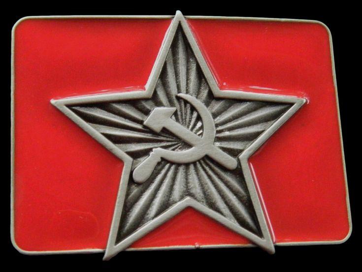 Russia USSR Russian Soviet Union CCCP Flag Belt Buckle #flag #russia #russian #russianflag #cccp #buckle #beltbuckle #buckles