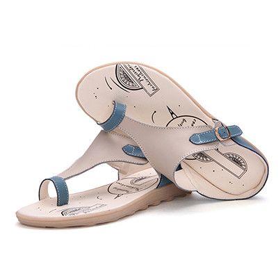 Genuine Flip Flops women sandals Leather Women Flats shoes Brand Summer Slippers 2016 Ladies Sandals Leisure Shoes Woman 1101