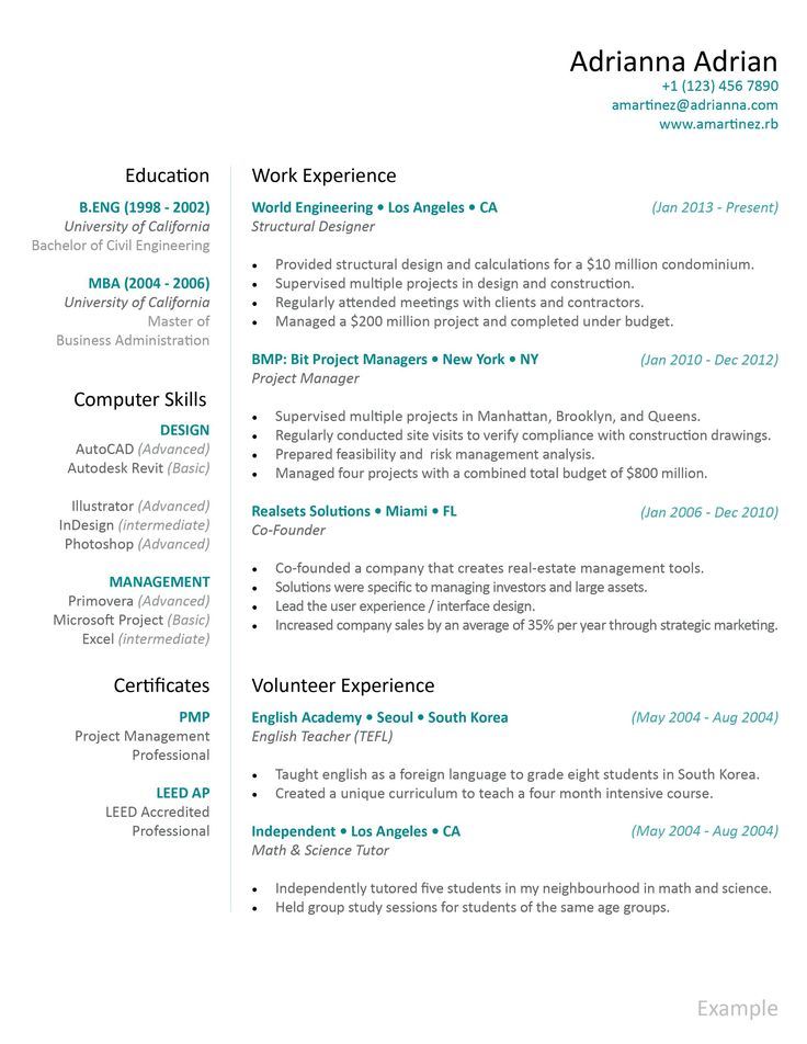 47 best Resume images on Pinterest Apartment design, College - combination resume samples