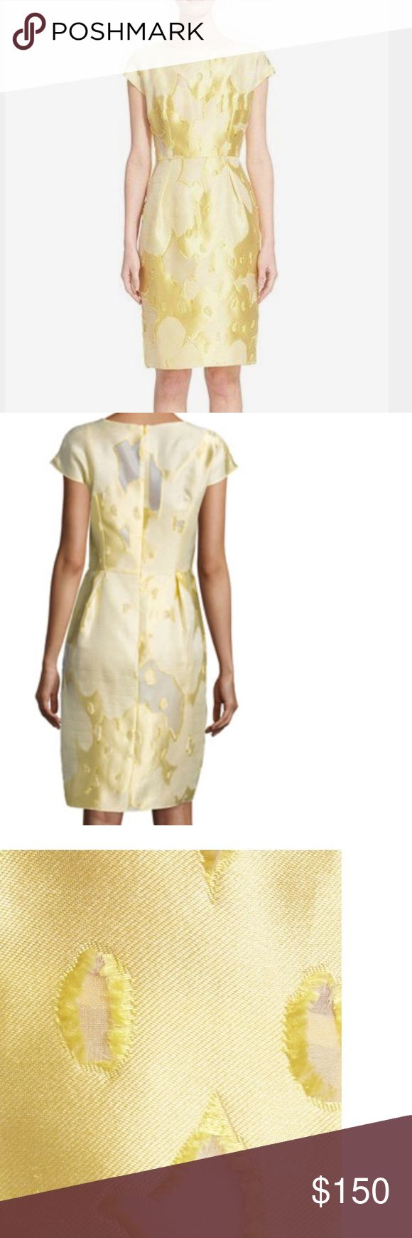 ESCADA !!! Floral Fil  Coupé sheath dress It  new , the dress side to big for me !!! The Nordstrom sold out Escada Dresses